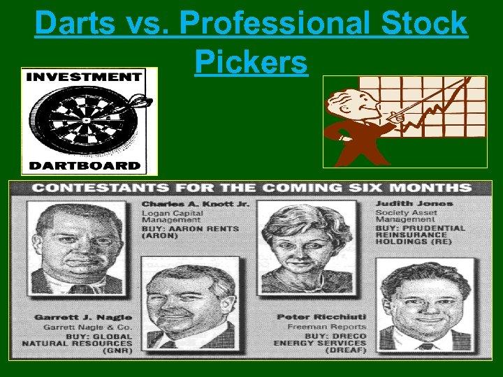 Darts vs. Professional Stock Pickers
