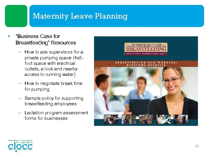 """Maternity Leave Planning • """"Business Case for Breastfeeding"""" Resources – How to ask supervisors"""
