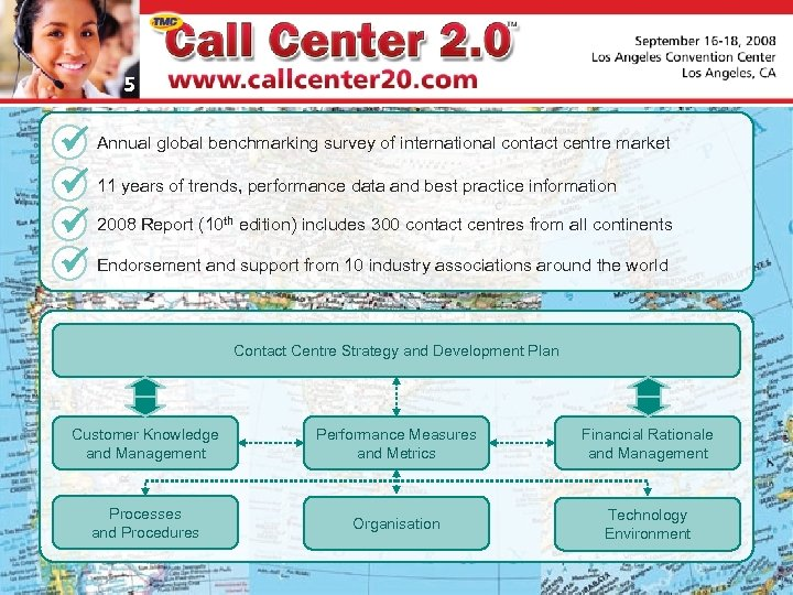 5 Annual global benchmarking survey of international contact centre market 11 years of trends,