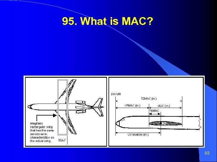 95. What is MAC? 93