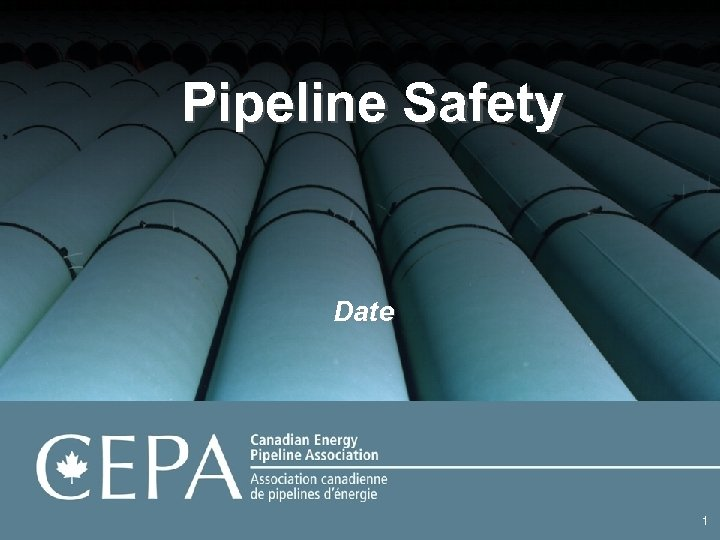 Pipeline Safety Date 1