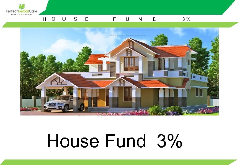 H O U S E F U N D 3% House Fund 3%