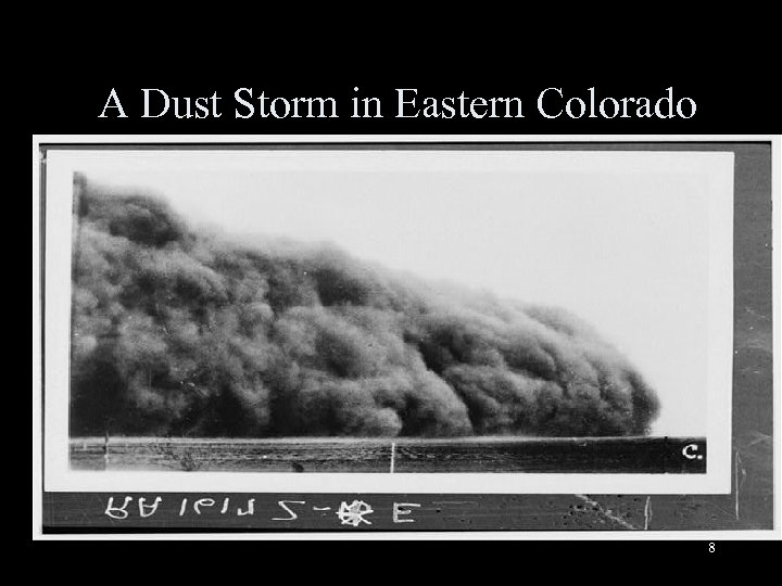 A Dust Storm in Eastern Colorado 8