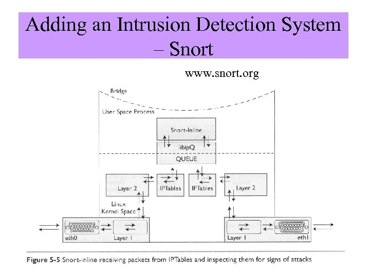"""Adding an Intrusion Detection System – Snort www. snort. org Image from """"Know Your"""