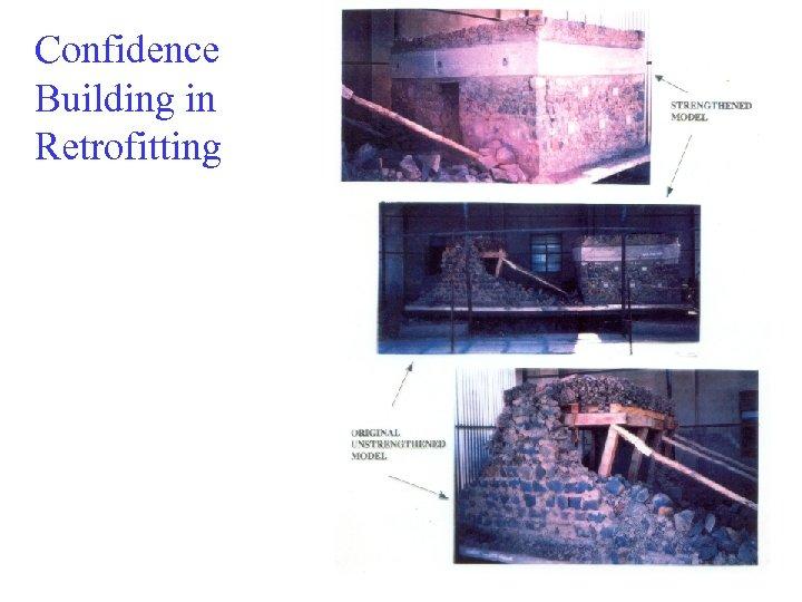 Confidence Building in Retrofitting