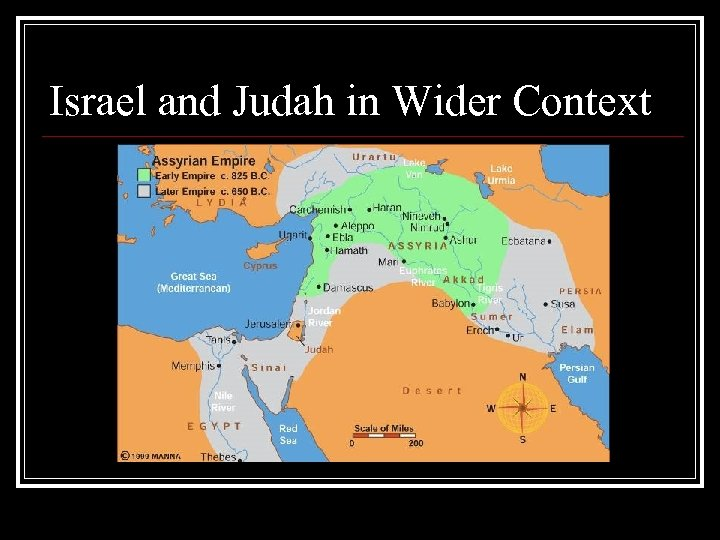 Israel and Judah in Wider Context
