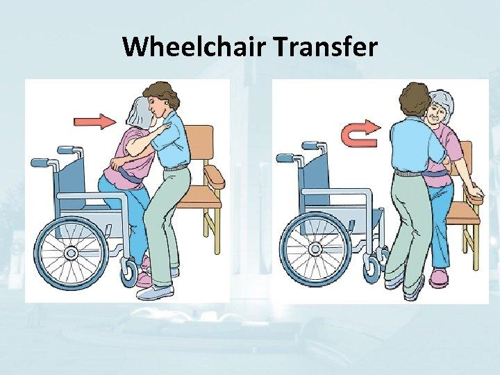 Wheelchair Transfer