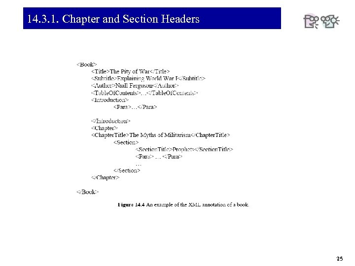 14. 3. 1. Chapter and Section Headers 25