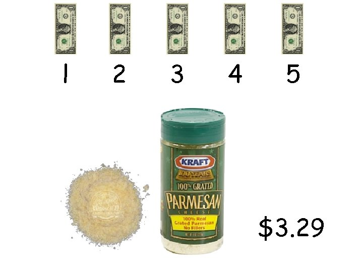 l 2 3 4 5 $3. 29