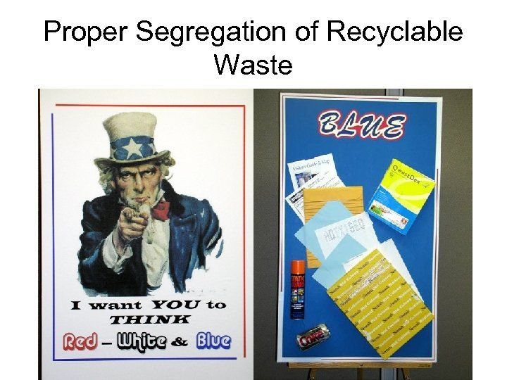 Proper Segregation of Recyclable Waste