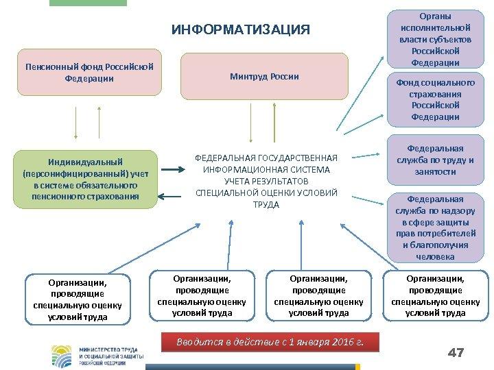 ИНФОРМАТИЗАЦИЯ Пенсионный фонд Российской Федерации Индивидуальный (персонифицированный) учет в системе обязательного пенсионного страхования Организации,