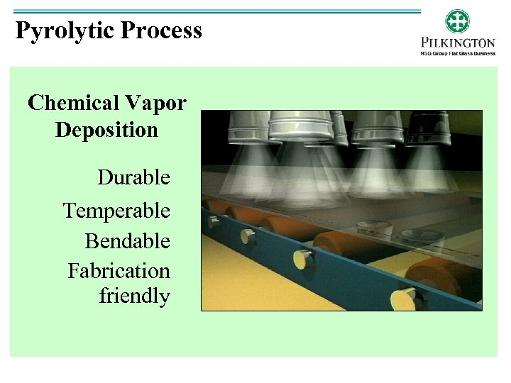 Pyrolytic Process Chemical Vapor Deposition Durable Temperable Bendable Fabrication friendly