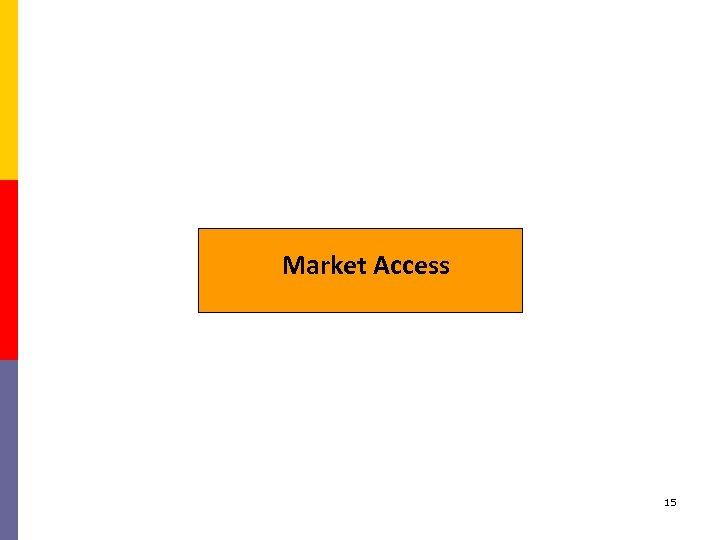 Market Access 15