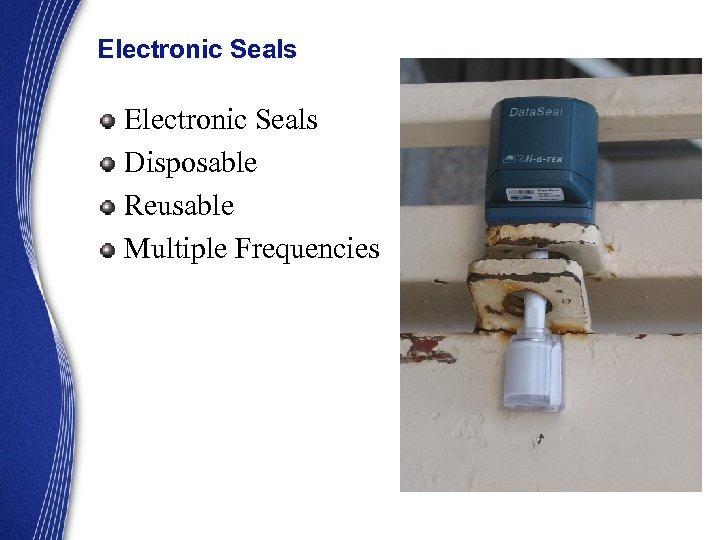 Electronic Seals Disposable Reusable Multiple Frequencies