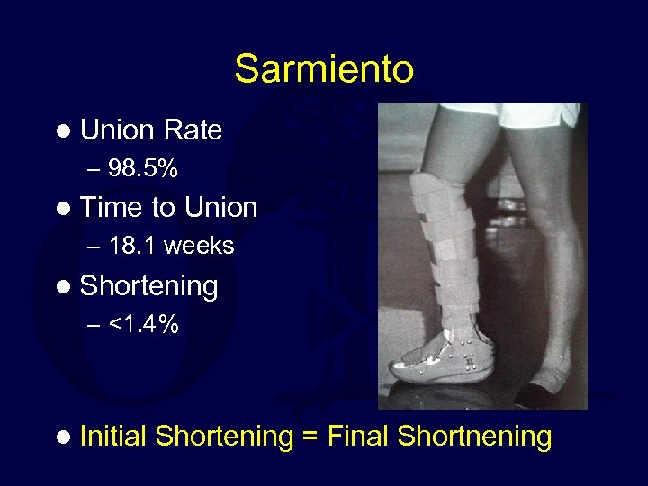 Sarmiento l Union Rate – 98. 5% l Time to Union – 18. 1