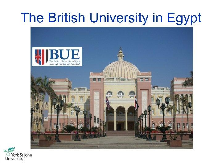 The British University in Egypt