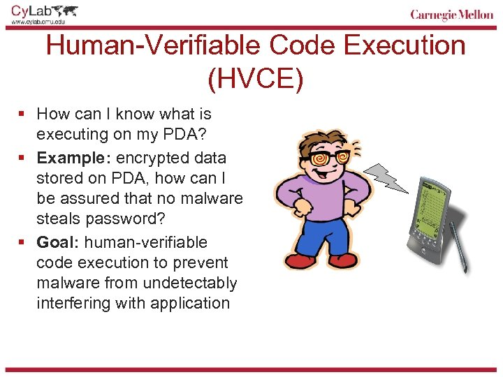 Human-Verifiable Code Execution (HVCE) § How can I know what is executing on my