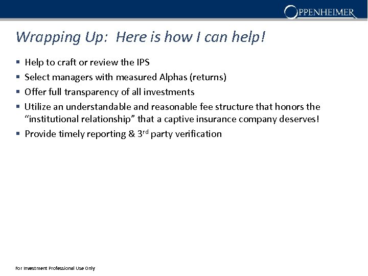 Wrapping Up: Here is how I can help! Help to craft or review the