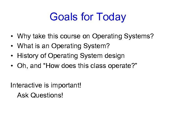 CS 414 415 Systems Programming and Operating Systems Spring