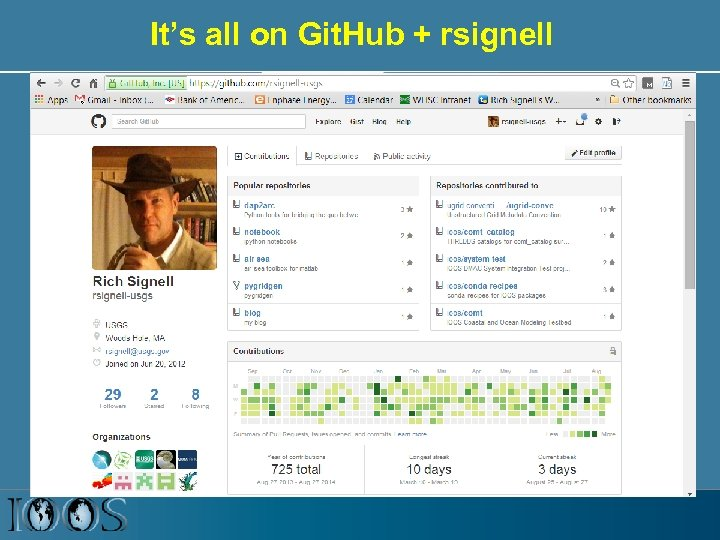 It's all on Git. Hub + rsignell