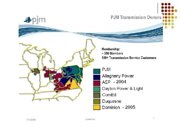 - 2004 - 2005