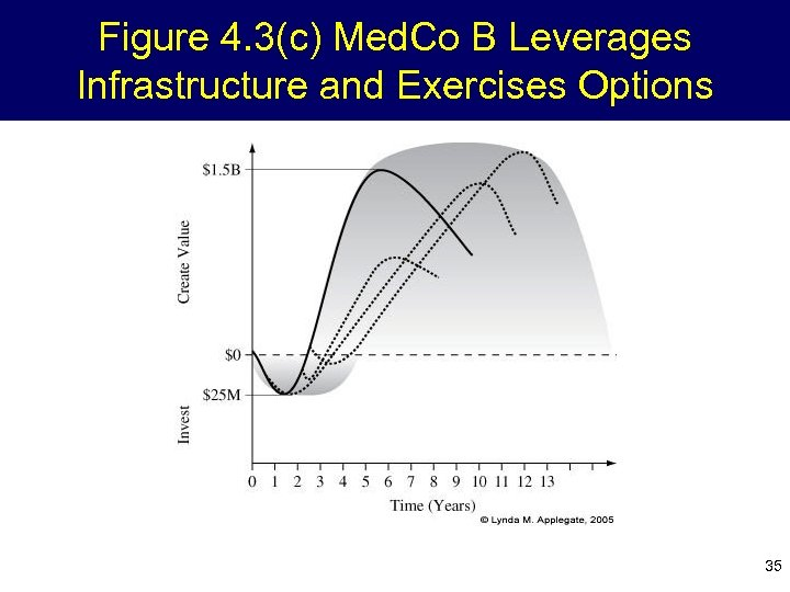 Figure 4. 3(c) Med. Co B Leverages Infrastructure and Exercises Options 35
