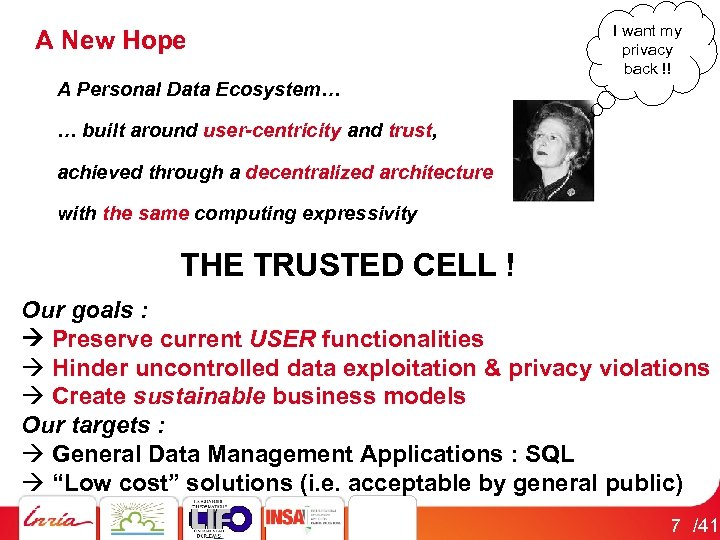 A New Hope A Personal Data Ecosystem… I want my privacy back !! …