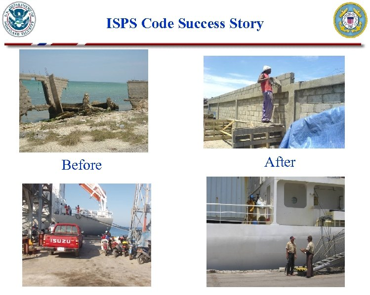 ISPS Code Success Story Before After