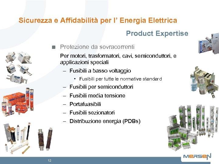 Sicurezza e Affidabilità per l' Energia Elettrica Product Expertise Protezione da sovracorrenti Per motori,