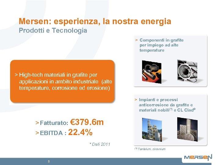 Mersen: esperienza, la nostra energia Prodotti e Tecnologia > Componenti in grafite per impiego