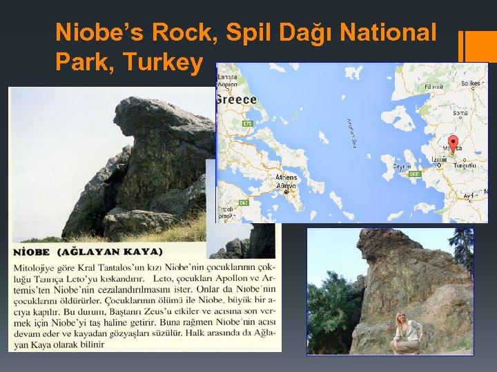 Niobe's Rock, Spil Dağı National Park, Turkey