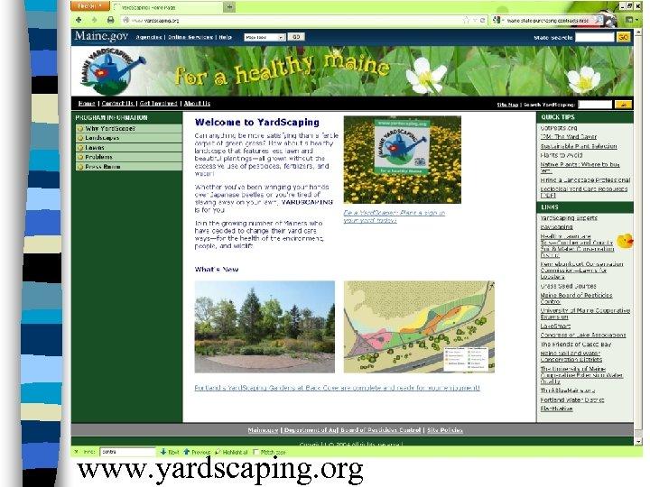 www. yardscaping. org