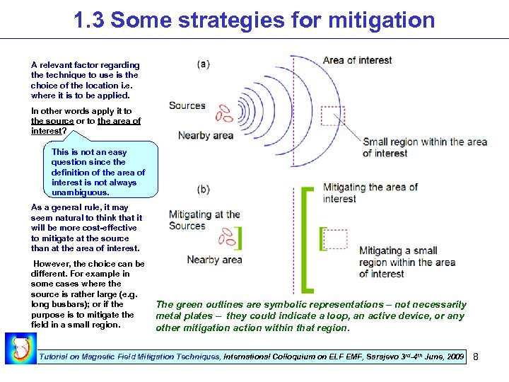 1. 3 Some strategies for mitigation A relevant factor regarding the technique to use