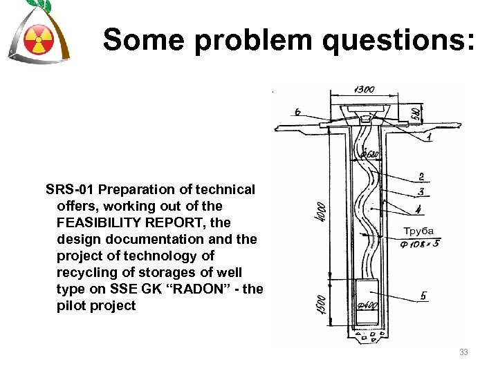 Some problem questions: SRS-01 Preparation of technical offers, working out of the FEASIBILITY REPORT,