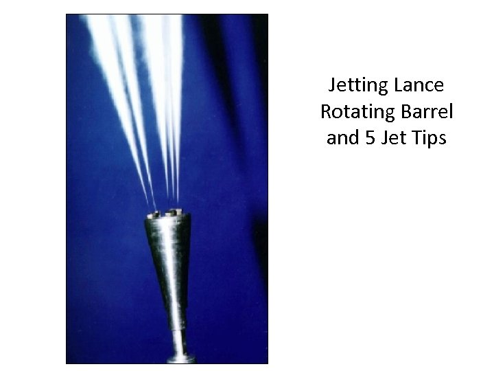 Jetting Lance Rotating Barrel and 5 Jet Tips