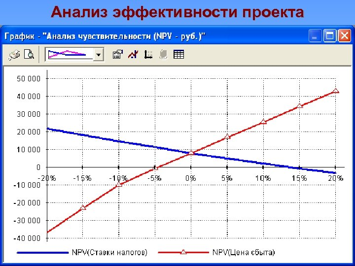 Анализ эффективности проекта
