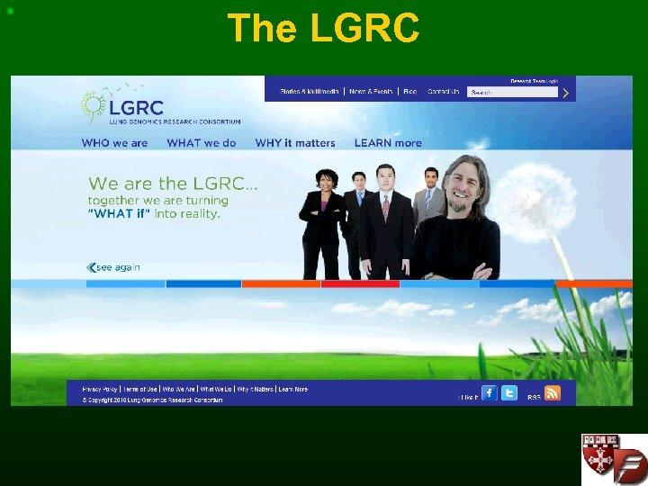 The LGRC