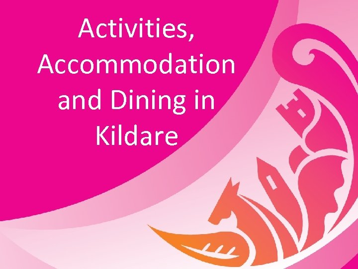 Activities, Accommodation and Dining in Kildare