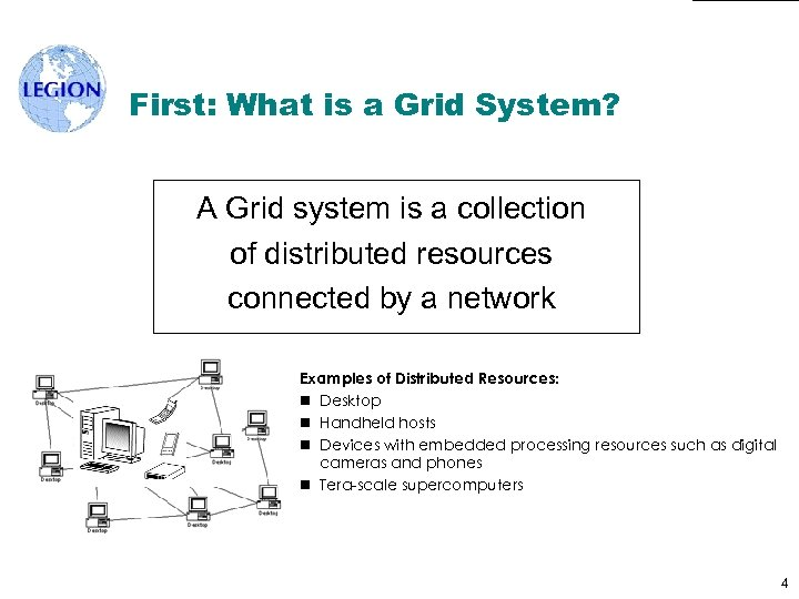 First: What is a Grid System? A Grid system is a collection of distributed