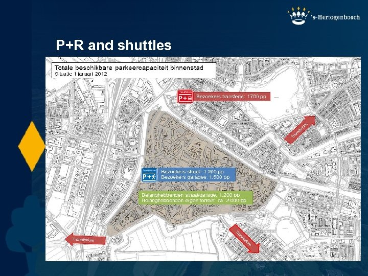 P+R and shuttles | 22 |