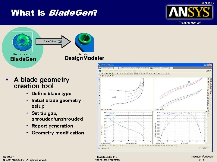 Version 1 0 Blade Modeler 3 0 Turbo