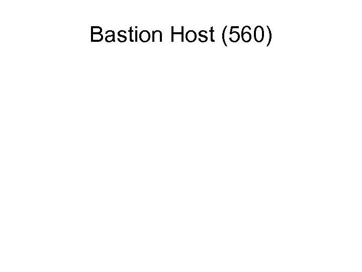 Bastion Host (560)