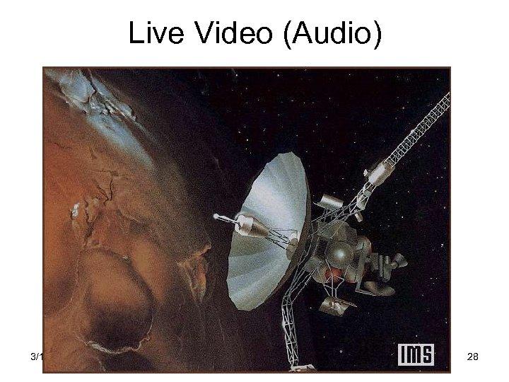 Live Video (Audio) 3/16/2018 Интернет 28