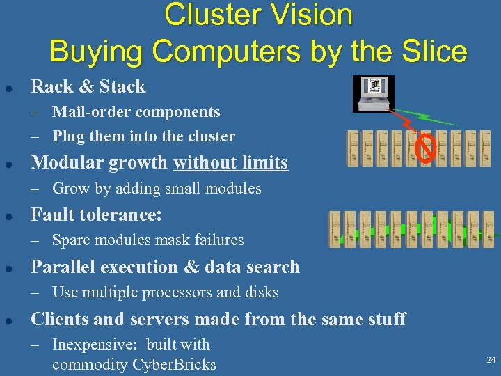 Cluster Vision Buying Computers by the Slice l Rack & Stack – Mail-order components