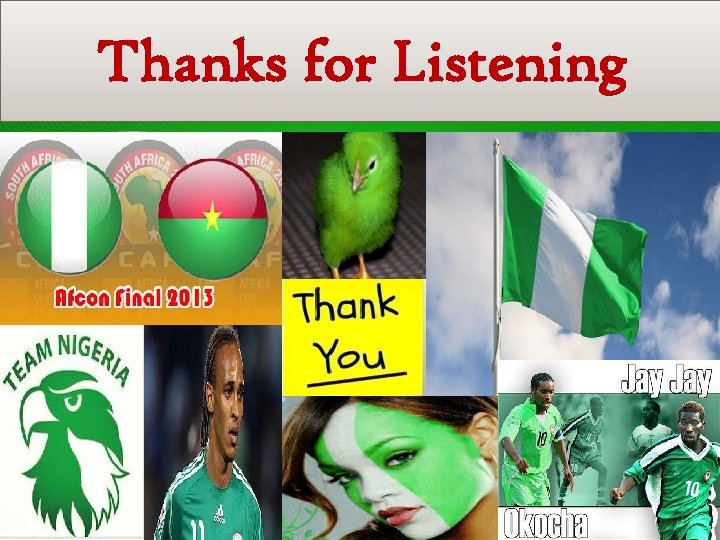Centre for Management Development Thanks for Listening 28 2012 CMD Performance Report
