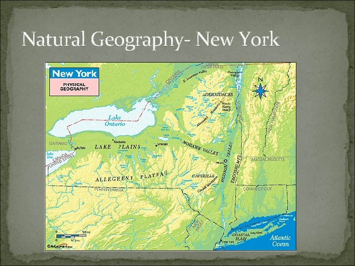 Natural Geography- New York