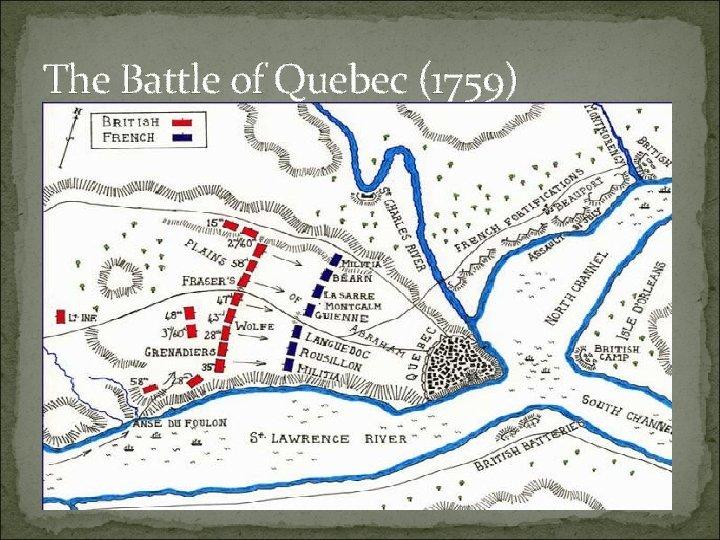 The Battle of Quebec (1759)
