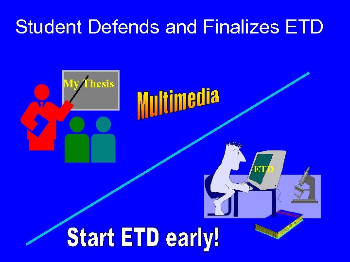 Student Defends and Finalizes ETD My Thesis ETD