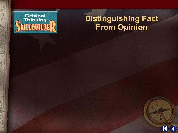 Distinguishing Fact From Opinion