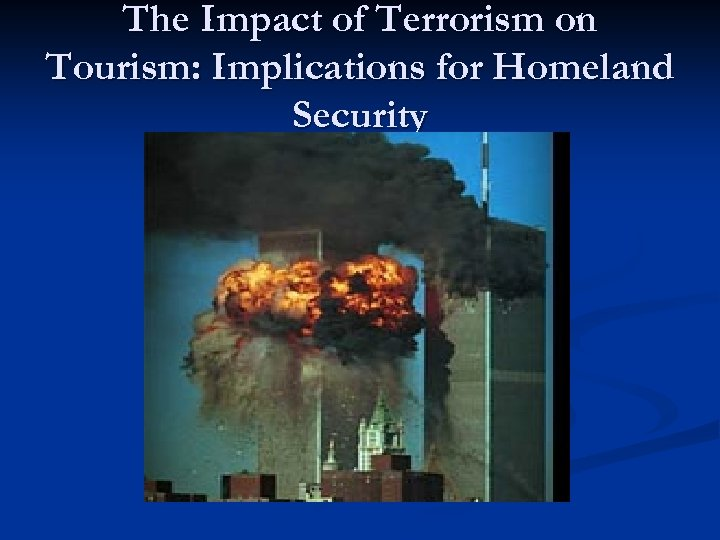 impact of terrorism on tourism in india Colombia's boom in tourism in recent decades has coincided with increased security and a regular army presence on major highways and tourist  were more likely to dismiss the risk of terrorism.